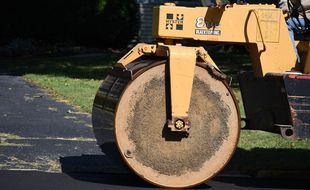 L'engin, de type rouleau compresseur, a été volé dans la nuit de lundi à mardi sur un chantier à Lannion.
