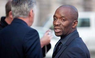 L'ancien joueur Claude Makelele, entraineur adjoint du PSG, le 11 janvier 2012.
