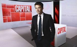 Le journaliste François-Xavier Ménage, aux commandes de «Capital».