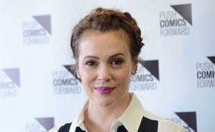 L'actrice Alyssa Milano