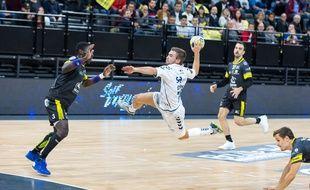 Luc Steins, le Hollandais volant du Fenix Toulouse Handball.