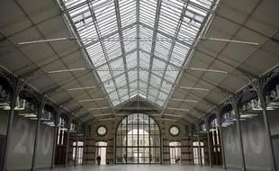 L'établissement culturel parisien le 104 situé dans le 19e arrondissement, l'une des grandes réalisations culturelles de Delanoë.