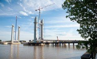 Le pont Bacalan-Bastide à Bordeaux