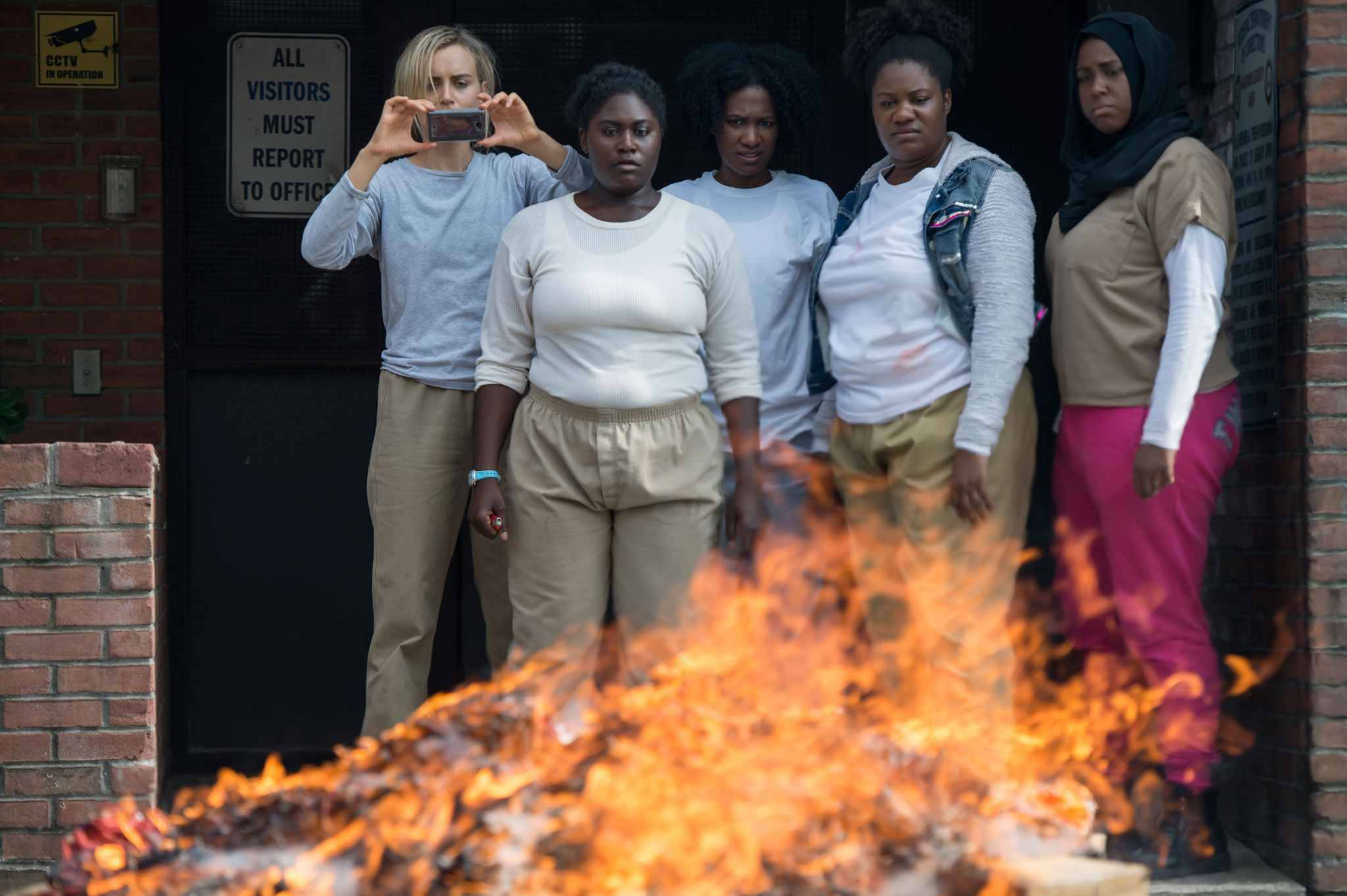 Les héroïnes de la série Orange Is The New Black