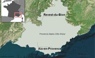 Deux hommes ont été interpellés après la découverte de deux corps à Revest-du-Bion.
