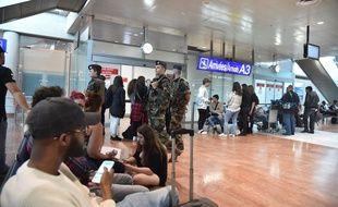 L'aéroport de Nice le 10 mai 2016. Lionel URMAN/SIPA