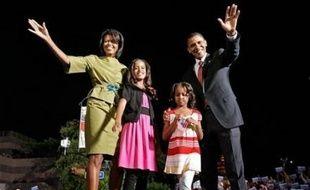 """Le prétendant démocrate à la Maison Blanche Barack Obama a revendiqué mardi avoir franchi une """"étape majeure"""" sur le chemin de l'investiture après les primaires organisées dans l'Oregon (nord-ouest) et le Kentucky (centre-est)."""