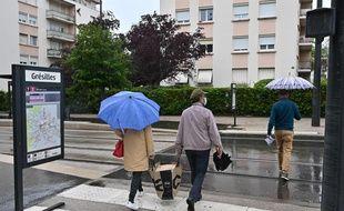Le quartier des Grésilles à Dijon.