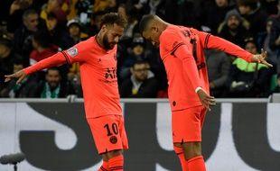 Neymar et Mbappé ont brillé par leur complémentarité et leurs combinaisons ce dimanche, à Saint-Etienne.