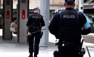 Des policiers à Sydney en Australie (illustration)