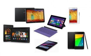 Des tablettes sorties en 2013.