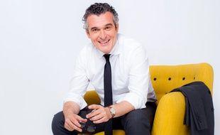 Olivier Ravanello, journaliste de la rédaction d'iTélé.