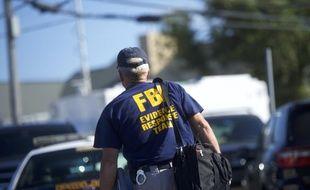 Un agent du FBI à Seaside Park, le 17 septembre 2016 (image d'illustration).