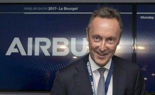 Fabrice Bregier, numéro 2 d'Airbus
