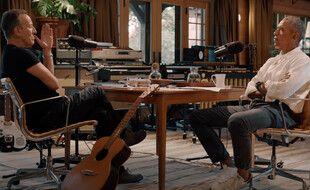 Bruce Springsteen et Barack Obama sont les nouvelles stars d'un podcast sur Spotify (capture vidéo).