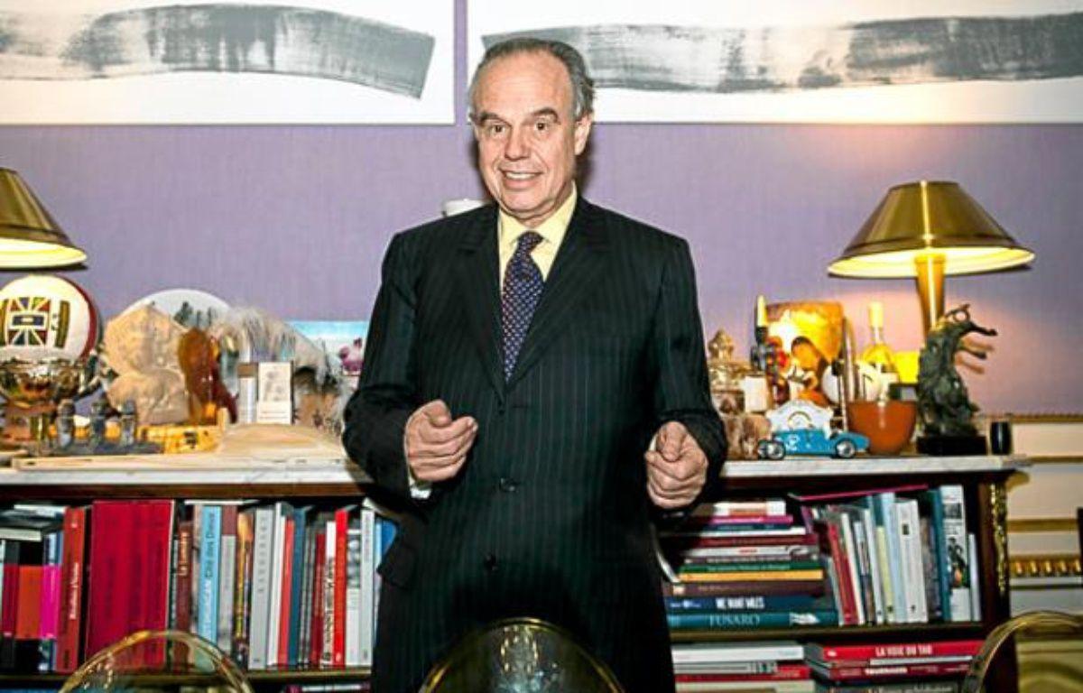 Frédéric Mitterrand, ministre de la Culture et de la Communication. – Vincent Wartner / 20 Minutes