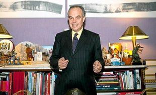 Frédéric Mitterrand, ministre de la Culture et de la Communication.