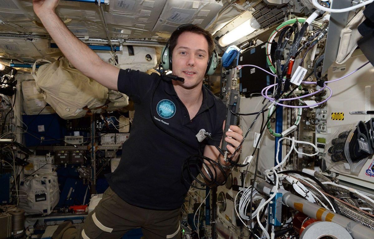 Thomas Pesquet dans la station spatiale internationale (ISS) – Thomas Pesquet/ESA/NASA/Cover Images/SIPA