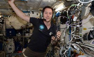 Thomas Pesquet dans la station spatiale internationale (ISS)