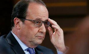 Le président François Hollande à l'Elysée le 19 mai 2016