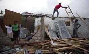 L'ouragan Matthew a fait plus de 400 morts en Haïti.