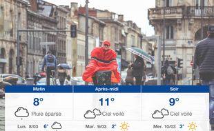 Météo Bordeaux: Prévisions du dimanche 7 mars 2021