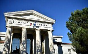 Un palais de justice en France. (illustration)