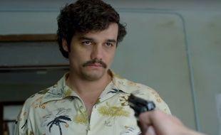 Wagner Moura incarne Pablo Escobar dans la nouvelle série de Netflix, Narcos.