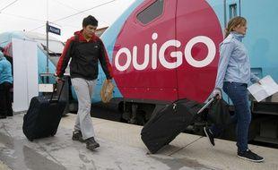 Les trains Ouigo ont commence à circuler en 2013 entre Paris et le Sud-est de la France.