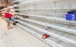 La crise alimentaire en Guyane. 11 avril 2017.  Illustration