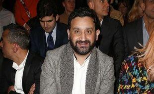 Cyril Hanouna au défilé Balmain à Paris le 2 mars 2017