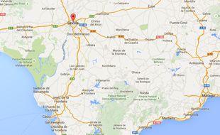 L'avion s'est écrase non loin de Séville, dans le sud de l'Espagne