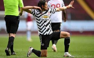Cavani s'est refait la cerise du côté de Manchester cette saison.