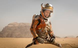 Matt Damon dans «Seul sur Mars»...