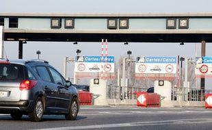 Gare de p?age sud ? l'entr?e de Toulouse. 16/01/12 Toulouse