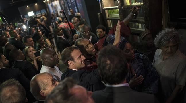In Nigeria, Macron celebrates African creativity in line