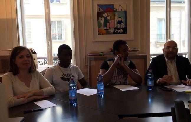 Elise Boscherel, Mamadou, Zackaria et Me Slim Ben Achour