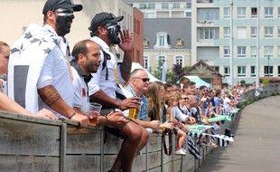 La plupart des clubs sportifs amateurs, ici le REC Rugby, à Rennes, sont à l'arrêt en cette période de confinement, où l'engagement associatif est mis à mal.