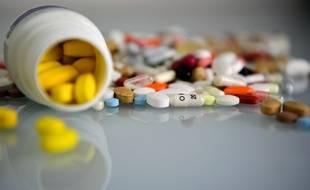Des médicaments  issus de l'industrie pharmaceutique britannique (image d'illustration).