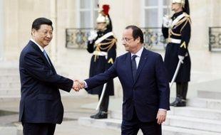 Xi Jinping, le président chinois, est arrivé mercredi midi à Paris