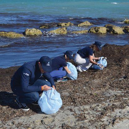 Avec la Goutte Bleue, tout le monde est appelé à nettoyer la nature autour de son lieu de vie pendant le mois de juin.