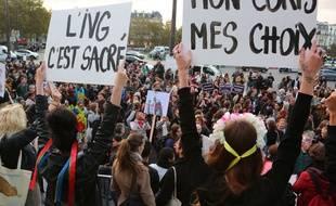 Une manifestation pour le droit à l'avortement à Paris en septembre 2018.