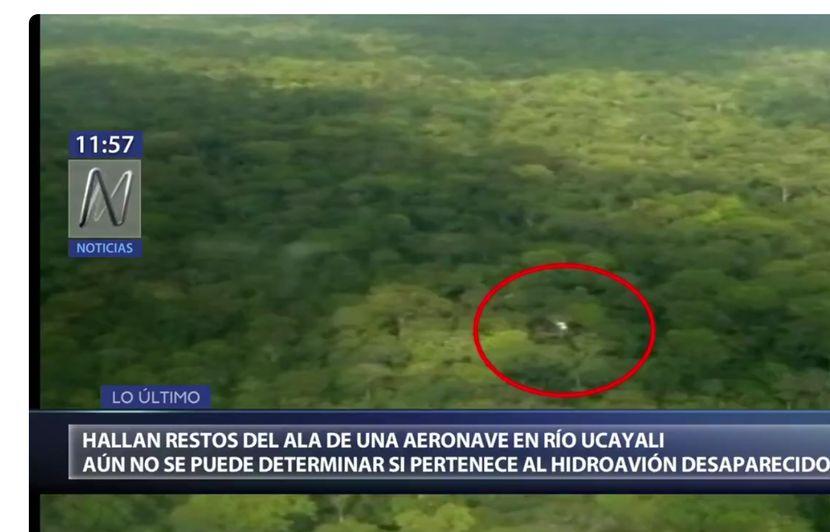 Pérou: Un avion réussit un atterrissage d'urgence sur la canopée amazonienne