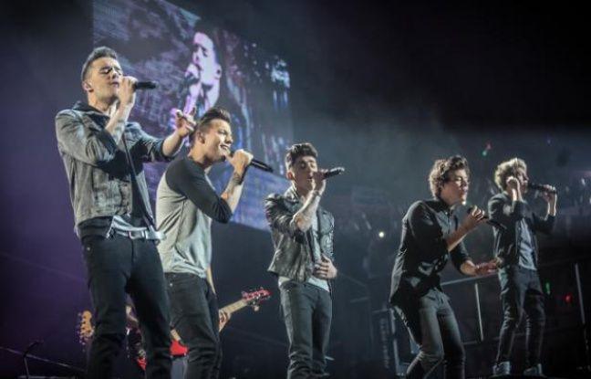 Liam Payne, Louis Tomlinson, Zayn Malik, Harry Styles et Niall Horan