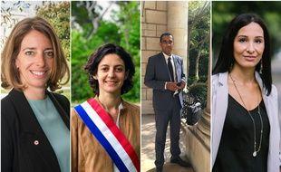 Cathy Racon-Bouzon, Claire Pitollat, Saïd Ahamada et Alexandra Louis souhaitent faire émerger un projet pour les municipales à Marseille.
