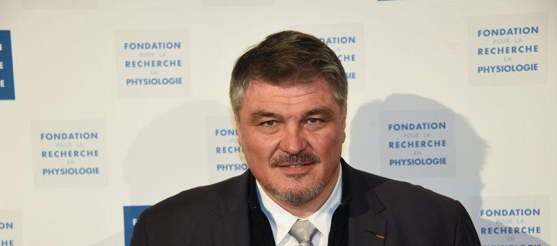 David Douillet, le 19 mars 2018 à Paris.