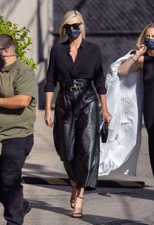 Charlize Theron, le 30 septembre, à Los Angeles.