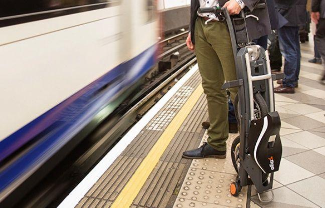Le Stigo, scooter électrique pliant et de poche.