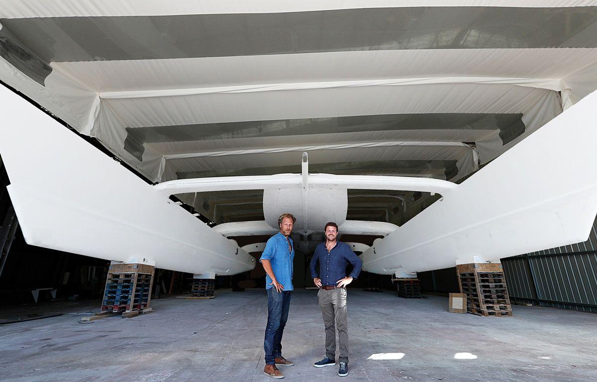 Le projet Energy Observer est porté par le réalisateur Jérôme Delafosse et le navigateur Victorien Erussard. – Jérémy Bidon / Energy Observer