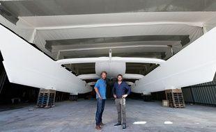 Le projet Energy Observer est porté par le réalisateur Jérôme Delafosse et le navigateur Victorien Erussard.